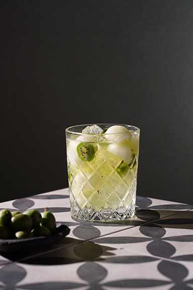 GREEN MELON, MIDORI AND VODKA-1